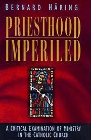 Cover of: Priesthood Imperiled