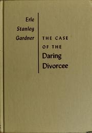 Cover of: The case of the daring divorcee
