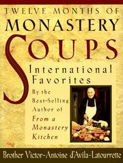 Cover of: Twelve months of monastery soups