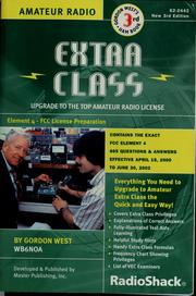 Cover of: Extra class | Gordon West