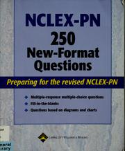 Cover of: NCLEX-PN 250 new-format questions | Lippincott Williams & Wilkins