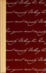 Cover of: My dear Mrs. Jones: the letters of the first Duke of Wellington to Mrs. Jones of Pantglas.