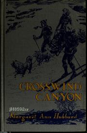 Cover of: Crosswind Canyon. | Margaret Ann Hubbard