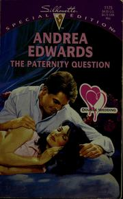 Cover of: The paternity question