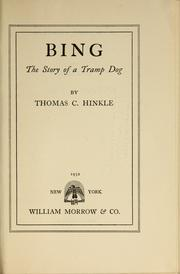 Cover of: Bing