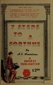 Cover of: Steps to a fortune | Howell, Mark.