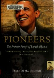 Cover of: Pioneers by Steve MacDonogh