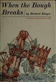 Cover of: When the bough breaks