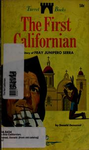 Cover of: The first Californian | Donald Demarest