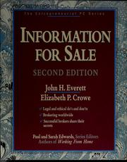 Cover of: Information for sale | John H. Everett