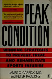 Cover of: Peak condition