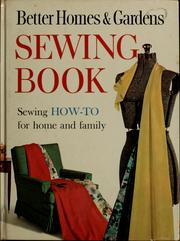 Cover of: Sewing book |