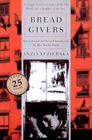 Cover of: Bread Givers | Anzia Yezierska
