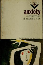 Cover of: Anxiety | Heiri Steiner