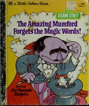 Cover of: The amazing Mumford forgets the magic words! | Patricia Thackray