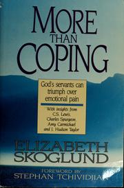 Cover of: More than coping