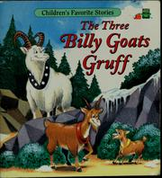 Cover of: The three billy goats Gruff