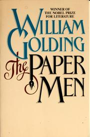 Cover of: The paper men | William Golding