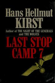 Cover of: Last stop Camp 7