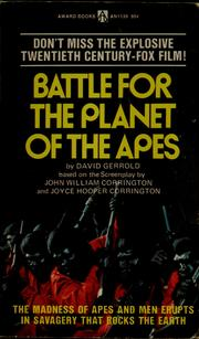Cover of: Battle for the Planet of the Apes