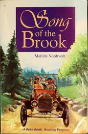 Cover of: Song of the brook