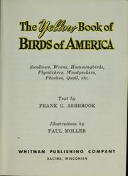 Cover of: The yellow book of birds of America
