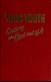 Cover of: Your youth | Watch Tower Bible and Tract Society of Pennsylvania