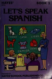 Cover of: Let's speak Spanish