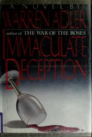 Cover of: Immaculate deception