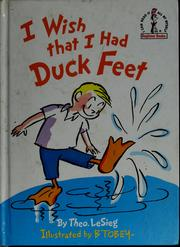 Cover of: I wish that I had duck feet