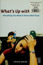 Cover of: What's up with boys?