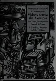 Cover of: Visions across the Americas