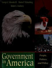 Cover of: Government in America