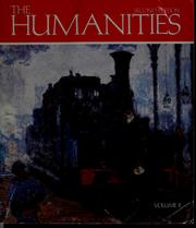 Cover of: The Humanities, cultural roots and continuities | Mary Ann Frese Witt