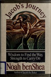 Cover of: Jacob's journey: wisdom to find the way, strength to carry on