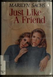 Cover of: Just like a friend