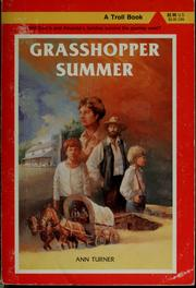 Cover of: Grasshopper summer