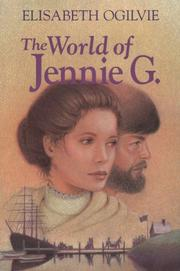 Cover of: world of Jennie G. | Elisabeth Ogilvie