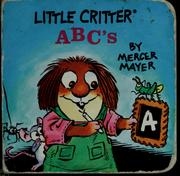 Cover of: Little Critter ABC's