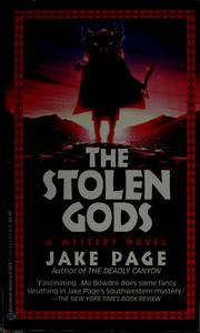 Cover of: The stolen gods