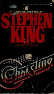 christine stephen king book - photo #14