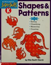 Cover of: Shapes & patterns