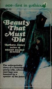 Cover of: Beauty that must die