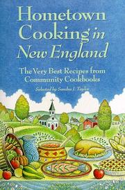 Cover of: Hometown Cooking in New England | Sandra Taylor