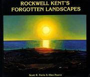 Cover of: Rockwell Kent's forgotten landscapes