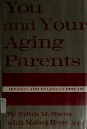 Cover of: You and your aging parents