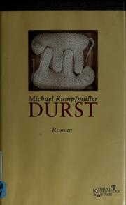 Cover of: Durst