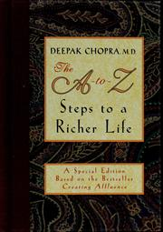 Cover of: The A-to-Z steps to a richer life