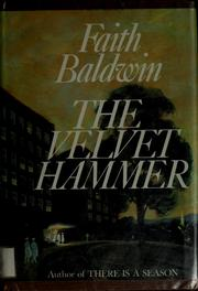 Cover of: The velvet hammer