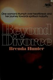 Cover of: Beyond divorce